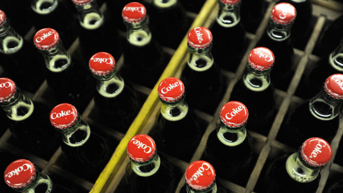 Coca-Cola's profit up even as sales disappoint