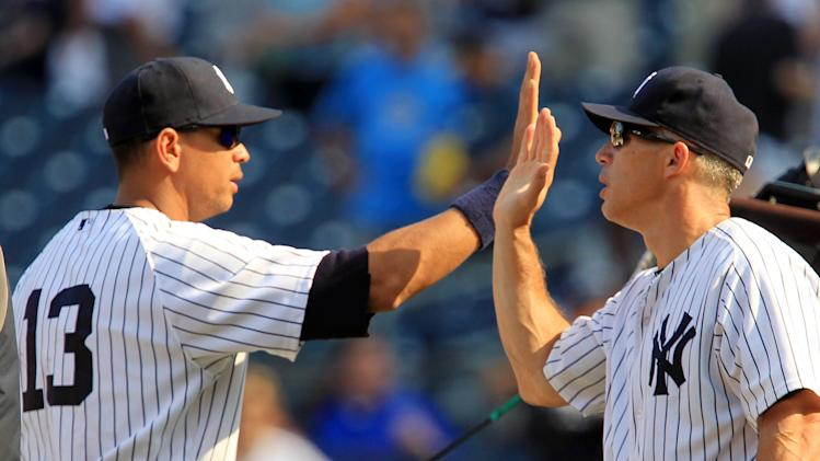 MLB: Toronto Blue Jays at New York Yankees-Game One