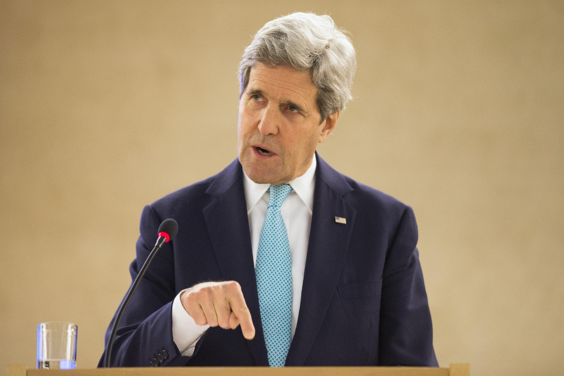 Kerry defends Israel before UN rights panel