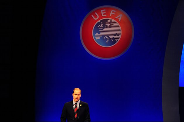 Soccer - XXXVII Ordinary UEFA Congress - Grosvenor House Hotel
