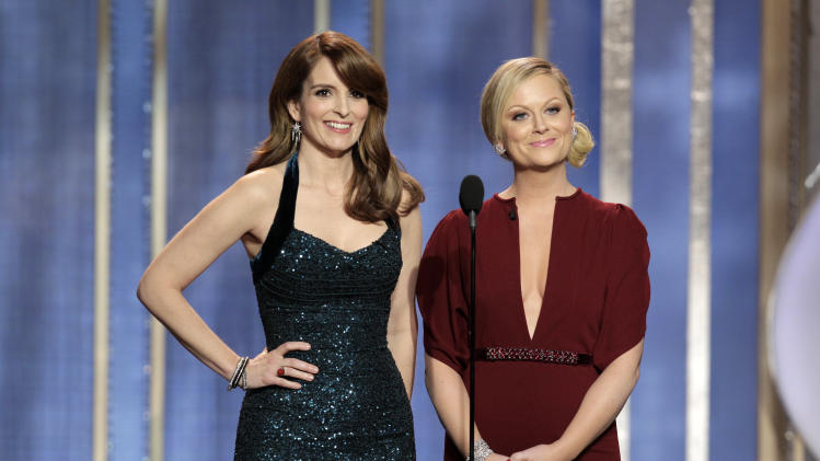 Co-hosts Fey and Poehler prove big Globes winners