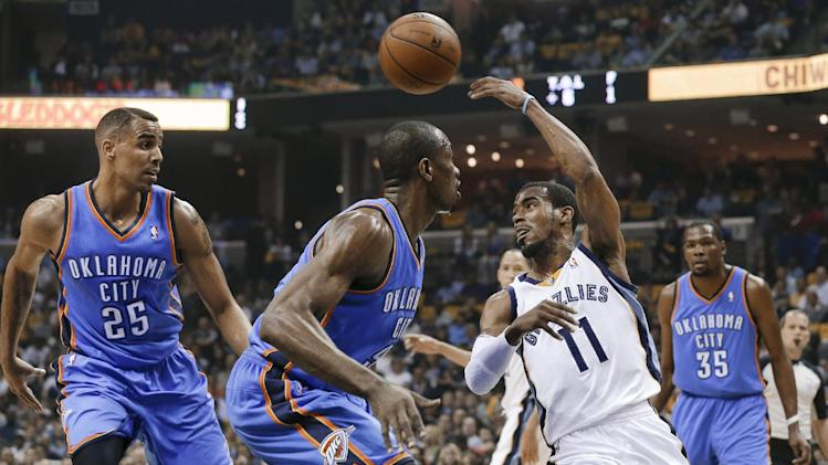 Grizzlies transcend another crazy Thunder comeback, go up 2-1 w…