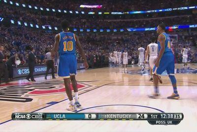 Kentucky goes up 24-0 on UCLA, leads 41-7 athalf