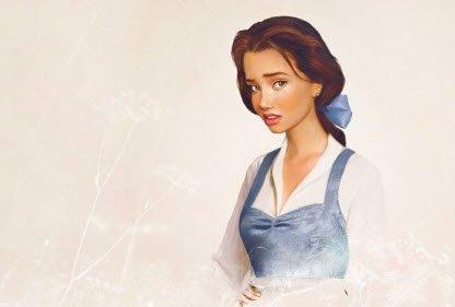 Rupa Para Putri Disney Jika…