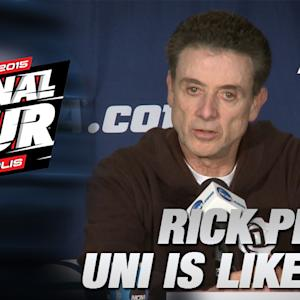 "Louisville's Rick Pitino: ""Northern Iowa a Lot Like UVA"" 