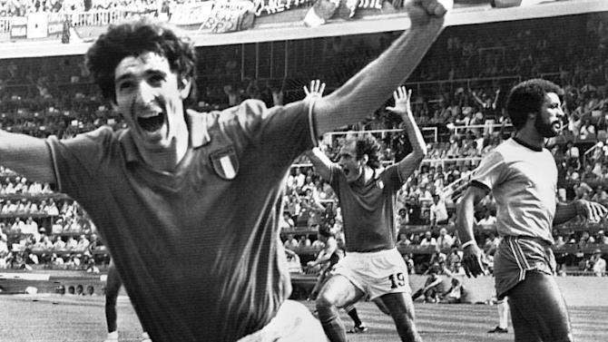ON THIS DAY: Rossi breaks Brazil's hearts in 1982
