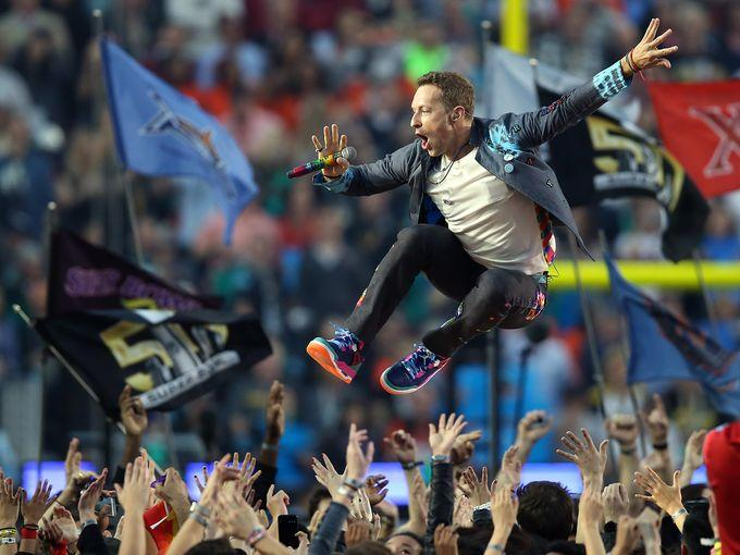 Jazzed Coldplay, Bruno Mars & Beyonce Harmonize At Super Bowl 50 Halftime Show – Review