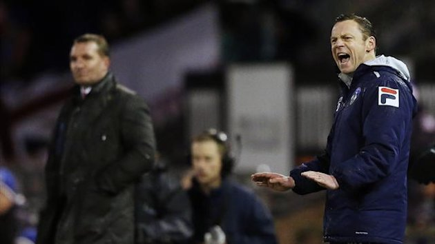 Oldham manager Paul Dickov (Reuters)