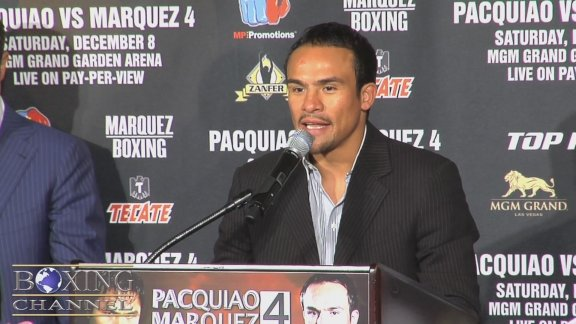 Pacquiao-Marquez 4 is set for December 4