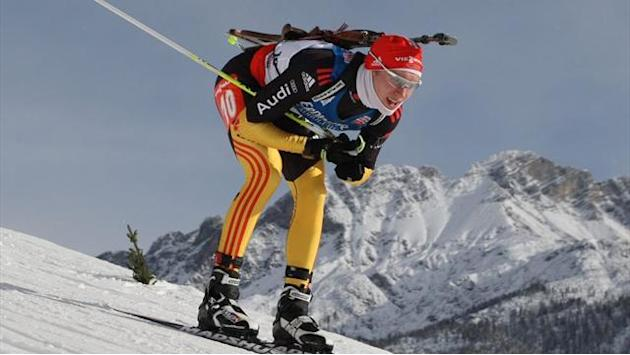 Biathlon - Doll upgrades silver to gold at Europeans