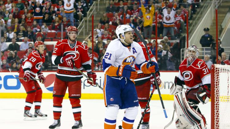 NHL: New York Islanders at Carolina Hurricanes