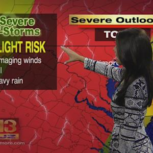 Meteorologist Chelsea Ingram Has Your Tuesday Noon Forecast
