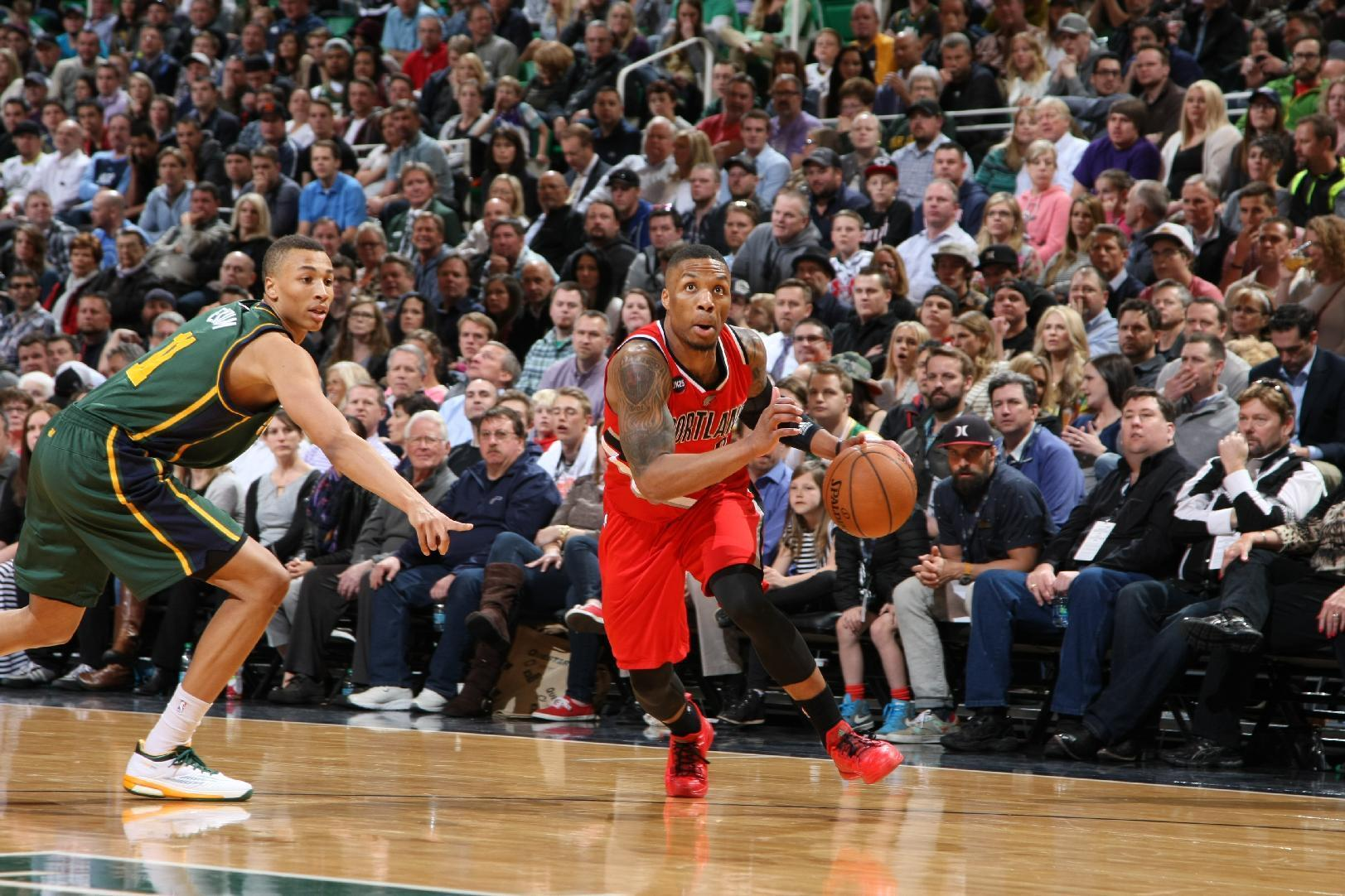 Blazers use 10-point comeback to beat Jazz 92-89