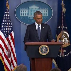 PRESIDENT OBAMA ON MH17 CRASH