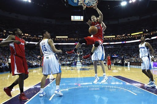 Hornets beat Clippers 97-90 in Paul's return to NO