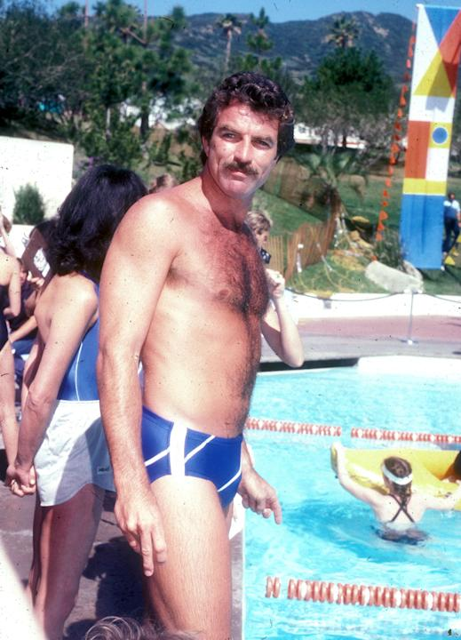 When Tom Selleck's hairy chest ruled the world