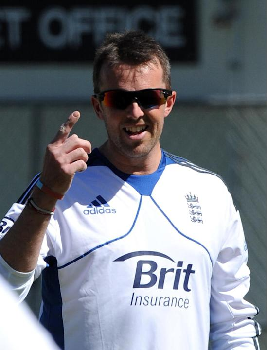 Cricket - Graeme Swann Filer