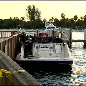 Man Injured In Pompano Beach Boat Explosion