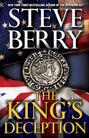 "This book cover image released by Ballantine Books shows ""The King's Deception,"" by Steve Berry. (AP Photo/Ballantine Books)"