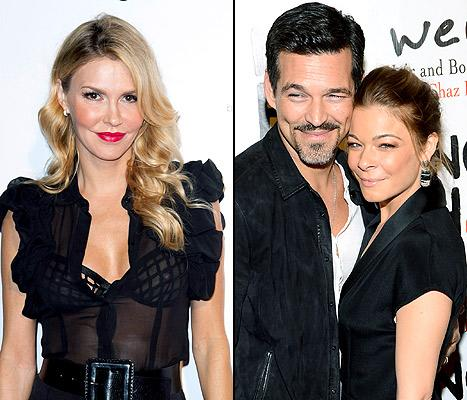 "Brandi Glanville Calls Real Housewives of Beverly Hills Costars ""Horrible,"" Says Eddie Cibrian Stays With LeAnn Rimes ""Because of the Money"""