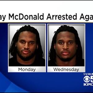 Former 49er Ray McDonald Arrested Again For Allegedly Violating Restraining Order
