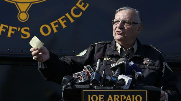 Who Mailed Explosives to Sheriff Joe Arpaio?