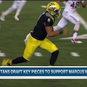 Tennessee Titans' draft picks to support rookie QB Marcus Mariota