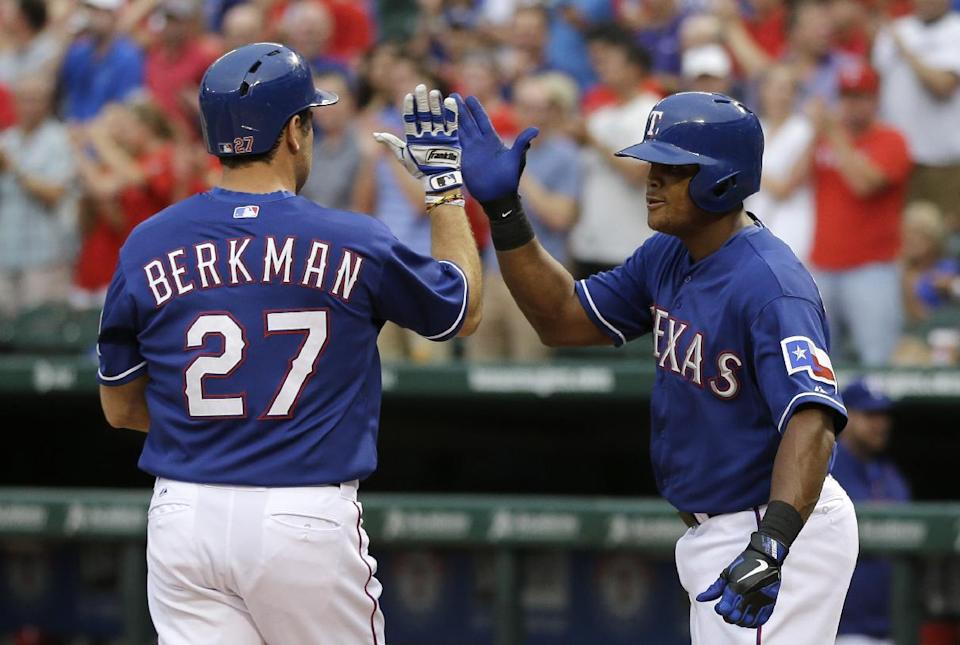 Rangers give starter a win for first time in June