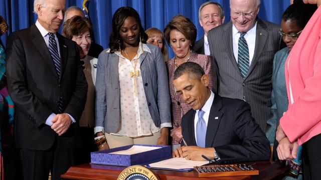 Obama Signs Violence Against Women Reauthorization Act