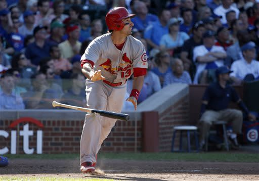 Beltran has 3 hits, Cards beat Cubs 3-2