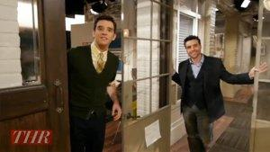 'Partners'' David Krumholtz Makes Michael Urie Take the Prop Food Challenge (Video)