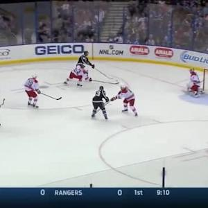 Cam Ward Save on Mark Barberio (10:04/1st)