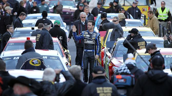 Johnson and Knaus are NASCAR's magical combination