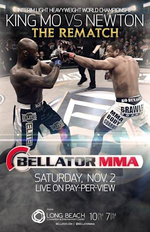 King Mo and Emanuel Newton Rematch for Bellator Interim Belt on Rampage vs. Tito PPV