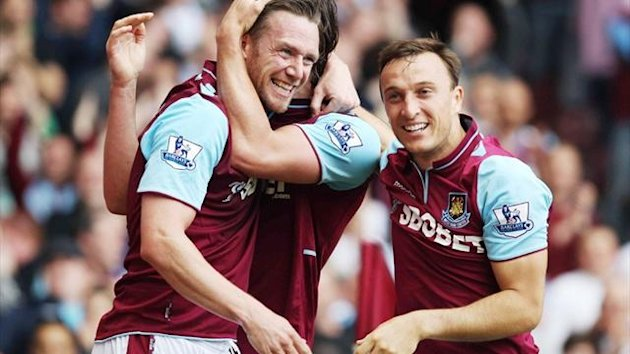 Kevin Nolan and Mark Noble