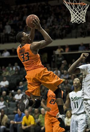 Smart scores 25, No. 5 Oklahoma State routs USF