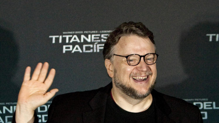 Mexican film Director Guillermo Del Toro poses for photos at an event promoting his new film Pacific Rim in Mexico City, Monday, July 1, 2013. The film premiers on July 12, 2013. (AP Photo/Ivan Pierre Aguirre)