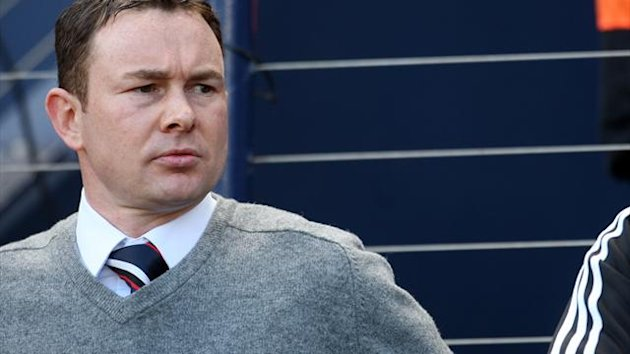 Derek Adams is not letting Ross County's struggles get to him