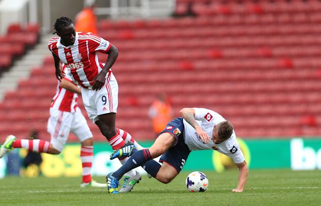 Soccer - Pre-season Friendly - Stoke City v Genoa - Britannia Stadium