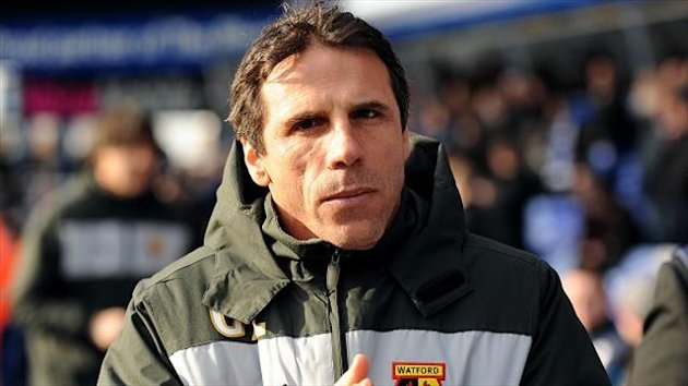 Gianfranco Zola believes Watford were denied two clear penalties at Millwall
