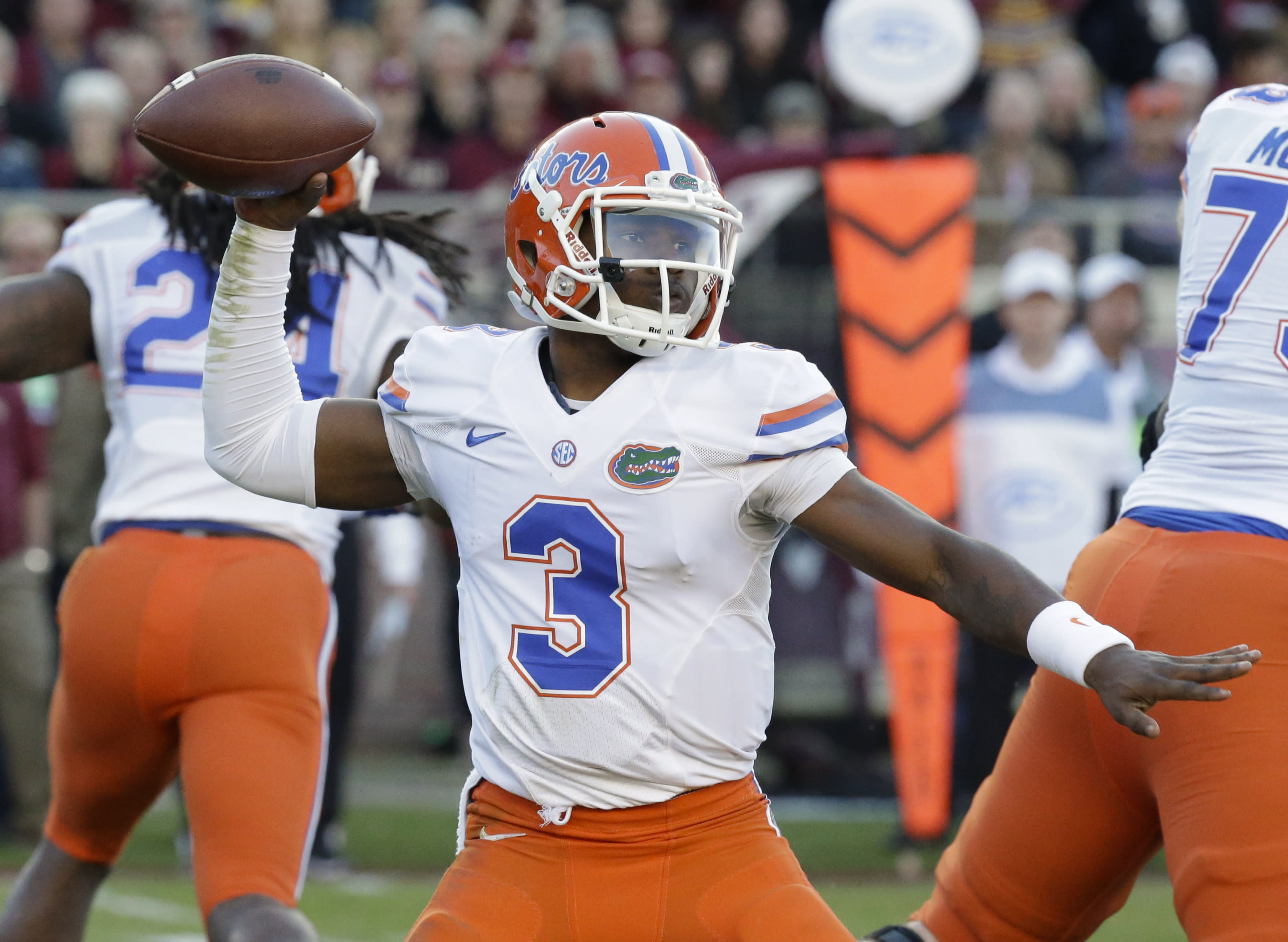 Florida QB Harris cited for driving without license