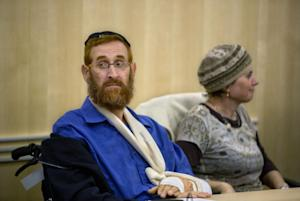Yehuda Glick, left, a rabbi and activist, who has pushed …