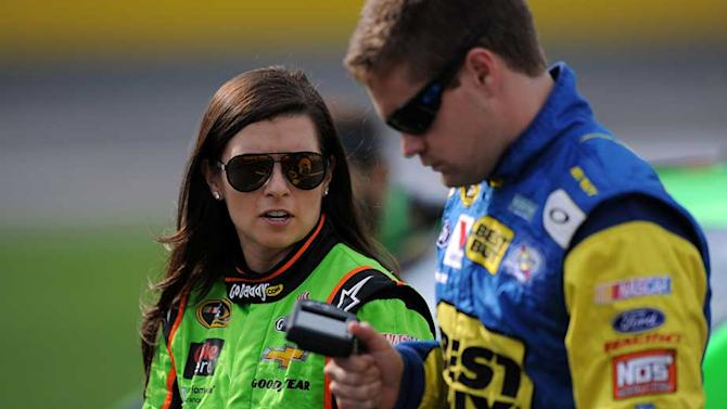 Danica 'honest' with Stenhouse about wreck