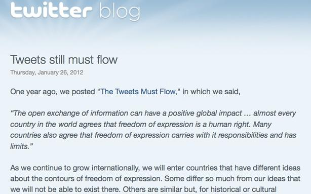 Twitter Censorship Sounds Good to Thailand