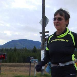 70-year old woman finishes ultramarathon