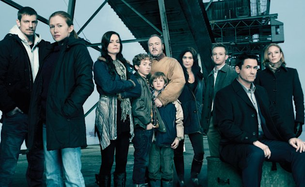 "The cast of ""The Killing"""
