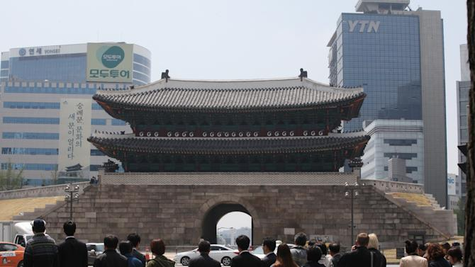 SKorea to open restored 600-year-old capital gate