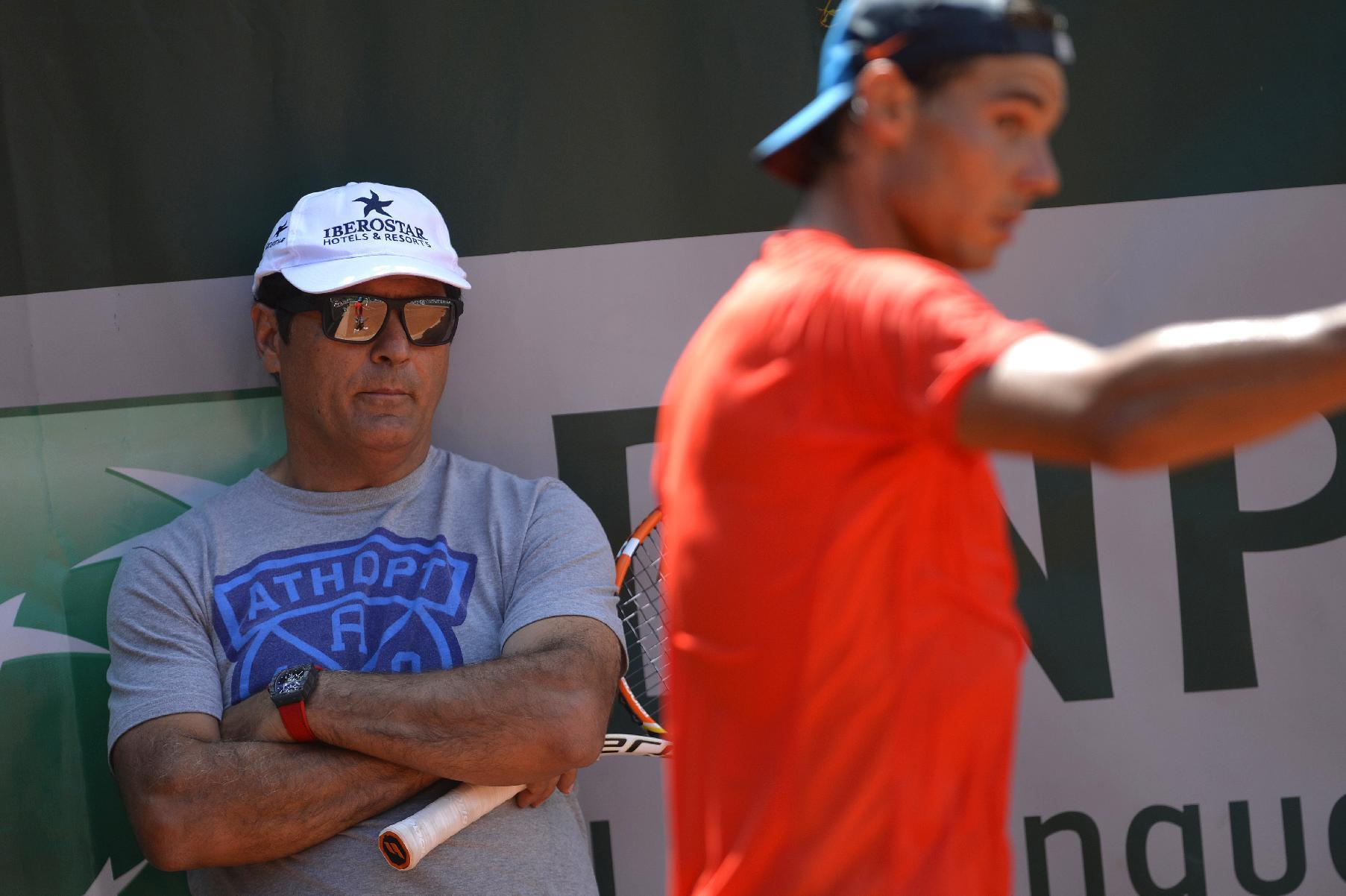 Tennis - Uncle Toni opens door to 'super-coach' for Nadal