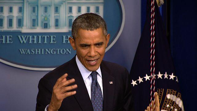 "Obama: Some in GOP want to ""take default out for a spin and see how it rides"""