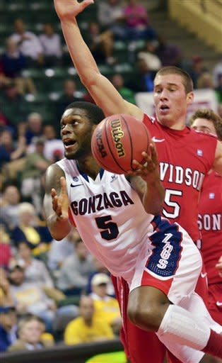 Harris scores 24 in Gonzaga's win